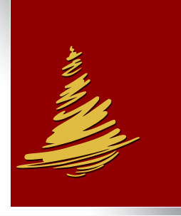 Stylized christmas tree design in Photoshop CS