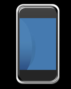 Create Apple iPhone Mobile Phone Design in Photoshop CS