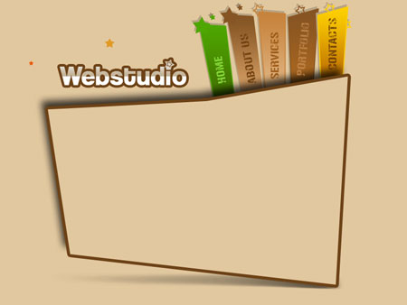 Create Stylish WebStudio Web Layout in Photoshop CS