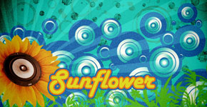 How to create retro sunflower poster in Photoshop