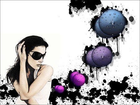 Create Groovy Girls in Photoshop CS3