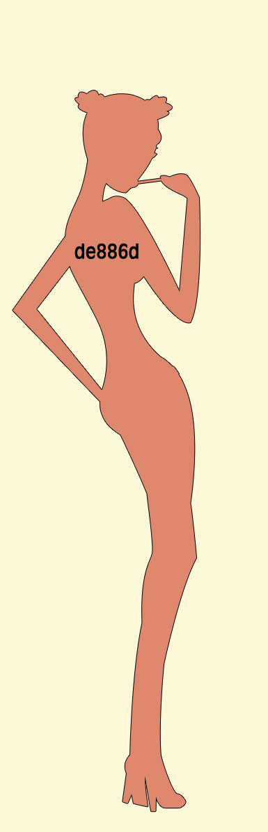 Desenati o femeie sexy 3