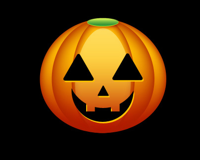 Create Halloween Pumpkin Wallpaper in Photoshop CS3