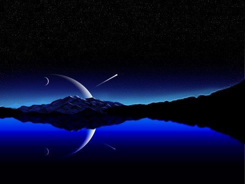 Create Night Sky in Photoshop CS3