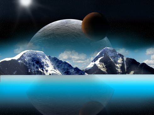 Create Planet Effects in Photoshop CS3