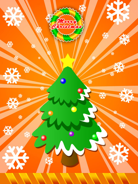Create Merry Christmas Greeting in Photoshop CS3