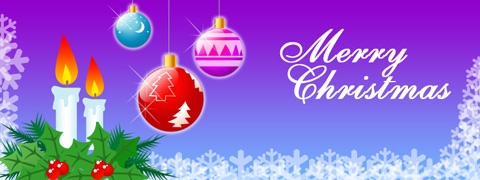 Create Merry Christmas Greeting Card in Photoshop CS3