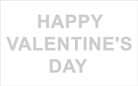 Create Happy Valentine Day Wallpaper in Photoshop CS3