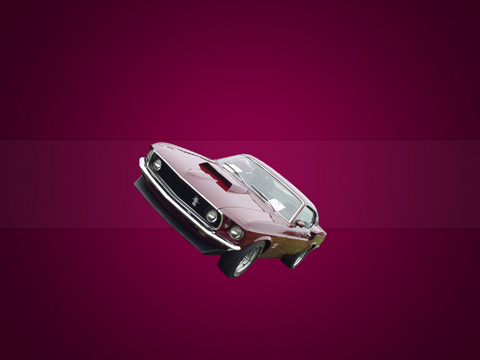Create My Classic Mustang Wallpaper in Photoshop CS3