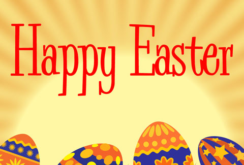 Create Happy Easter Postcard in Photoshop CS3