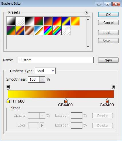 Create abstract wallpaper in Photoshop CS3