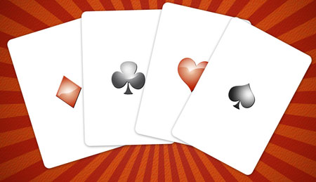 Create Custom playing cards in Photoshop CS3