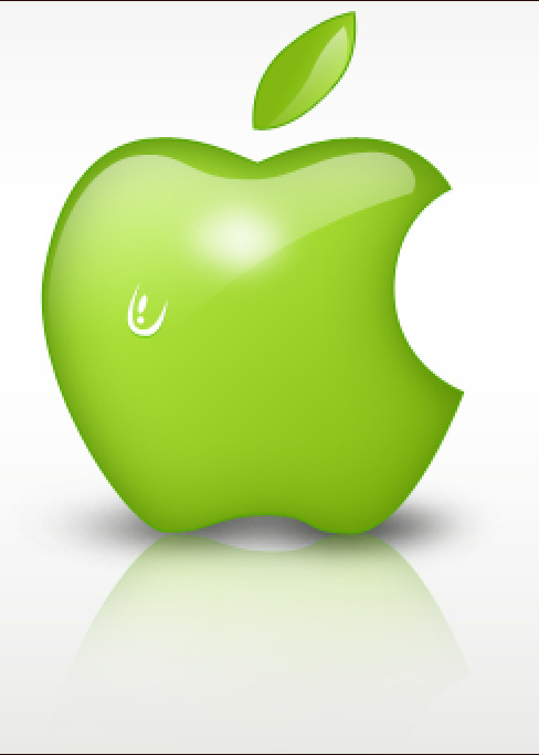 Create Green Apple Style Design in Photoshop CS3