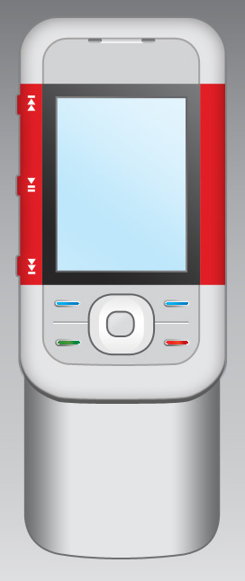 Create Nokia 5300 Cell phone interface in Photoshop CS3