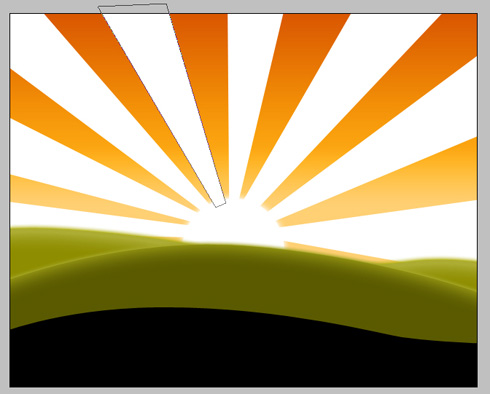Create Natures Sunshine Wallpaper in Photoshop CS3