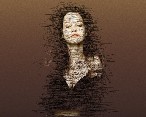 Interesting photo effect to make your photos look modern in Photoshop CS3