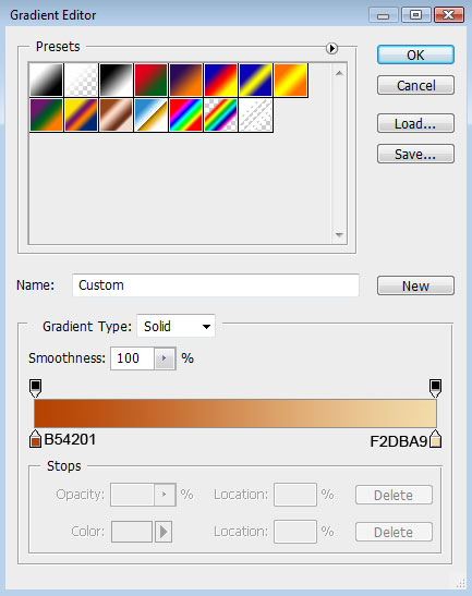 Create Colorful Abstract DNA background via Custom shapes in Adobe Photoshop CS3