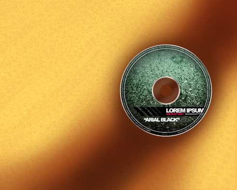 Creating colorful and fantastic looking CD from scratch in Photoshop CS3