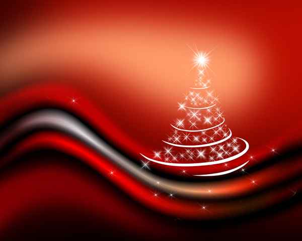 Create an abstract Christmas tree design in Photoshop CS3