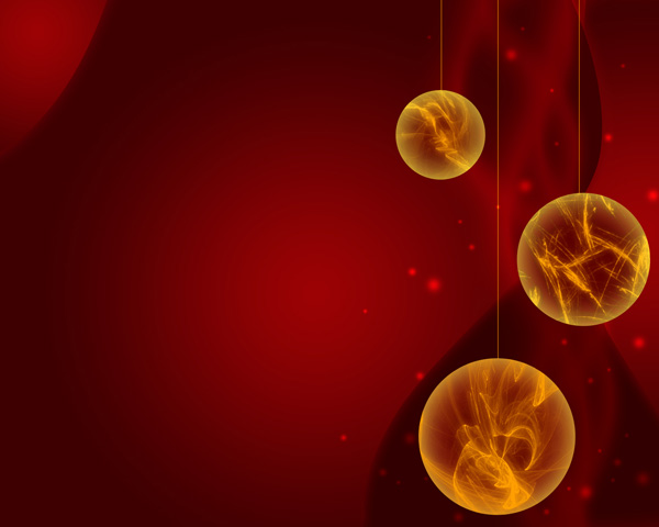 Create Christmas ornaments lights balls in Photoshop CS4