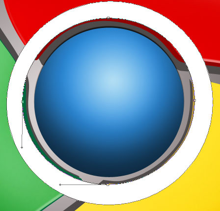 Create Google Chrome Logo Design in Photoshop CS3