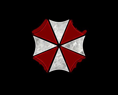 Create Umbrella Corporation logo in Photoshop CS3