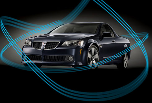 Design Pontiac G8 wallpaper in Photoshop CS4
