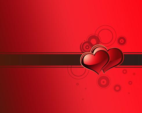Create Valentine's day card in Photoshop CS4