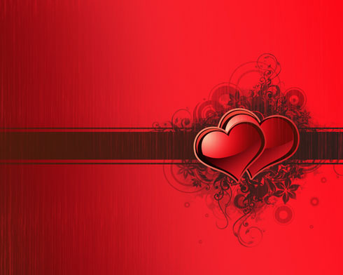 Create Valentine's day card in Photoshop CS4
