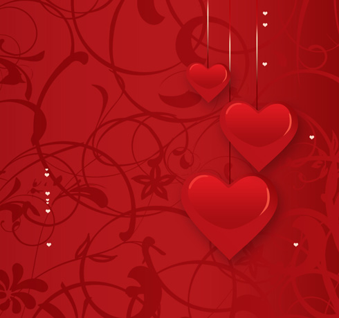 Learn how to design a romantic calendar in Valentine's Day spirit in Photoshop CS4