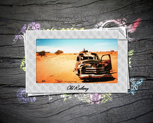 You will learn how to pull different scrapbook elements together with your photos in Photoshop CS4