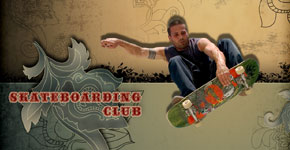 Skateboarding Club Wallpaper