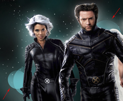 Create X-MEN movie poster in Adobe Photoshop CS4