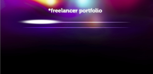 Create a trendy portfolio layout in Adobe Photoshop CS4