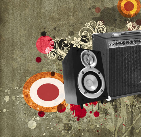 Create Awesome Music Wallpaper in Adobe Photoshop CS4