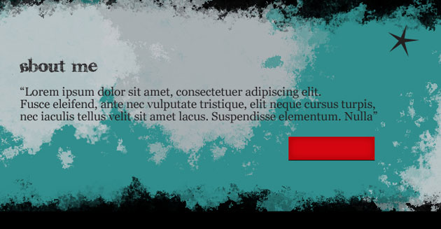 Design grunge wordpress theme in Adobe Photoshop CS4
