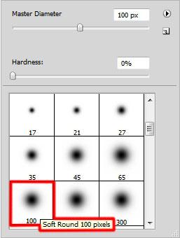 Create efek teks yang menyala membentuk goresan dalam Adobe Photoshop CS3
