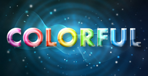 Freebie Release: Colorful Glow Text Effect – Free PSD