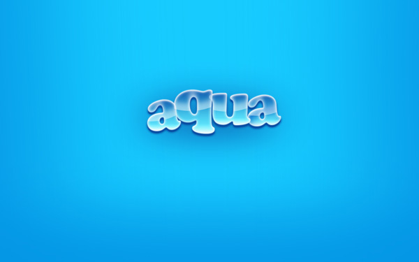 Create the famous Aqua wallpaper in just a few minutes using Adobe Photoshop CS3