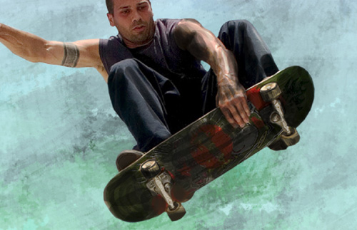 Create Urban Skateboarding Poster in Adobe Photoshop CS4