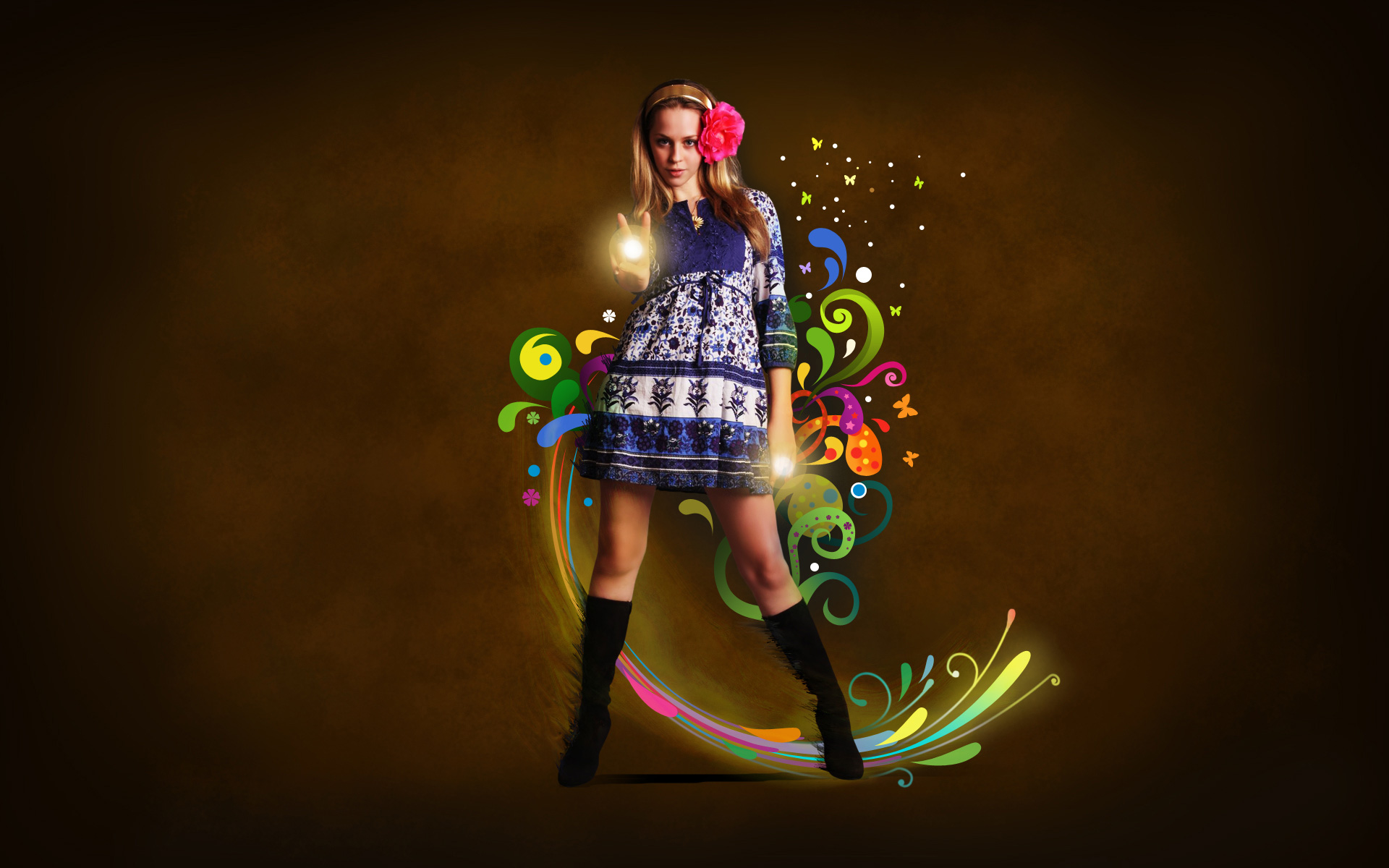 Create fantasy wallpaper in photoshop photoshop tutorials page baditri Choice Image