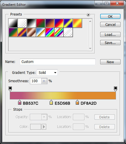 how to add fancy waves effect in photoshop