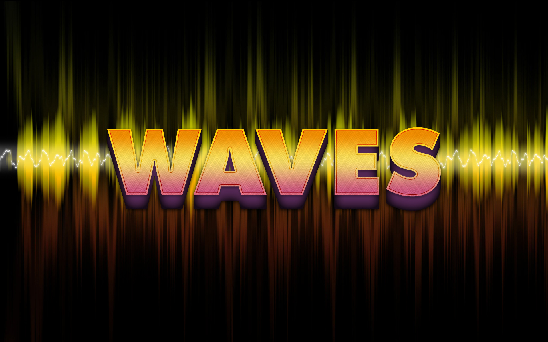 Freebie release waves text effect free psd photoshop tutorials freebie release waves text effect free psd baditri Gallery