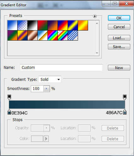 Create abstract Windows 7 wallpaper using Adobe Photoshop CS4