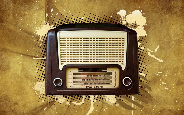 Create a Vintage Radio Poster in Photoshop CS4
