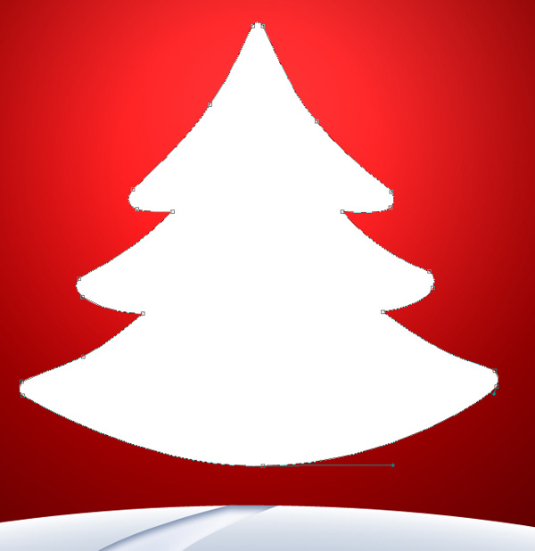 Design beautiful Christmas wallpaper or even an e-card in Adobe Photoshop CS4