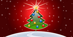 Create a Christmas design using Photoshop