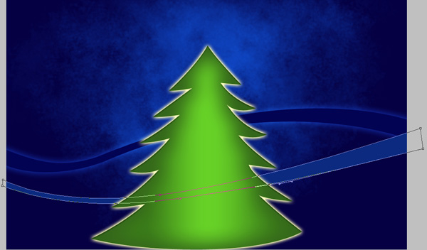 How to Create and decorate Christmas tree in Photoshop CS4