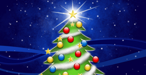 How to Create and decorate Christmas tree in Photoshop