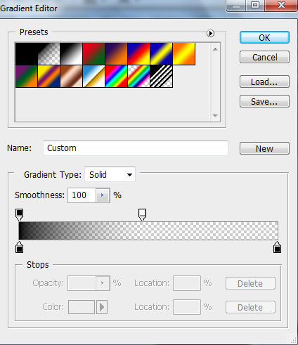 How to create abstract colorful rainbow background in Adobe Photoshop CS4